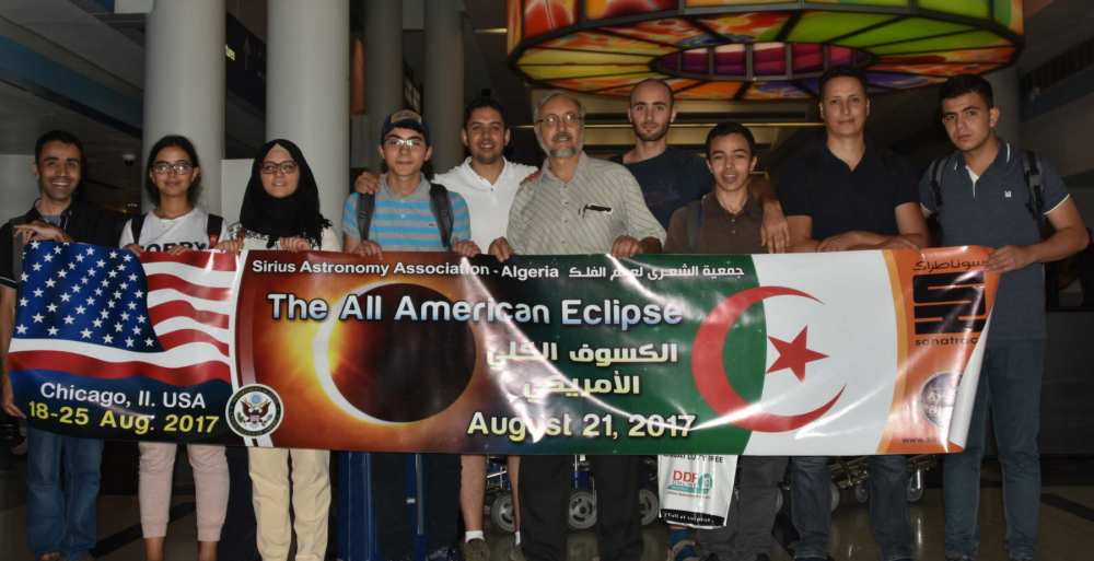 Sirius USA Eclipse Cirta Science science Algeria Chicago