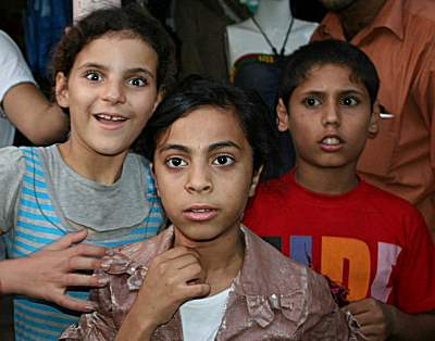 palestinian kids faces of hardship
