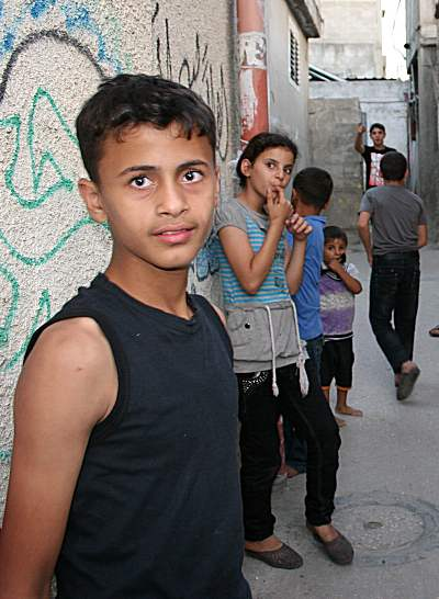 Gaza youth zionism refugee