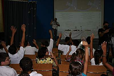 Gaza astronomy children