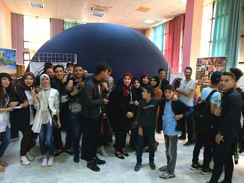Skikda Planetarium DGRSDT Sirius Science Algeria animation Direction