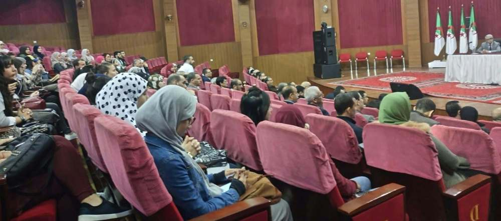 Skikda Planetarium DGRSDT Sirius Science Algeria animation Conference